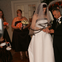 Ceremony, Flowers & Decor, white, orange, red, brown
