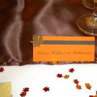 Reception, Flowers & Decor, orange, brown