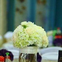 Flowers & Decor, white, brown, Centerpieces, Flowers, Centerpiece, Whiteivory