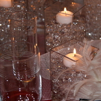 Ceremony, Reception, Flowers & Decor, white, red, silver, Ceremony Flowers, Centerpieces, Winter, Centerpiece, Inspiration board, Crystals