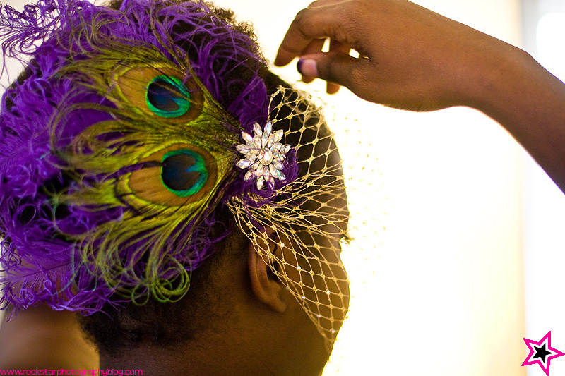 Beauty, DIY, Jewelry, purple, Feathers, Peacock, Fascinator, Feather, Ostrich