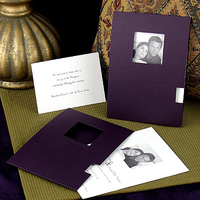 white, purple, Ceremony, Invitations, silver, Flowers & Decor, Stationery