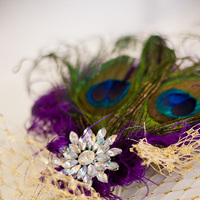Beauty, DIY, Veils, Fashion, purple, Veil, Hair, Birdcage, Peacock, Fascinator, Ostrich