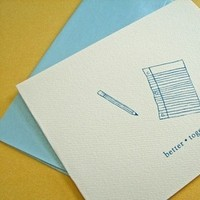 Stationery, Invitations, Thank you cards, Better together