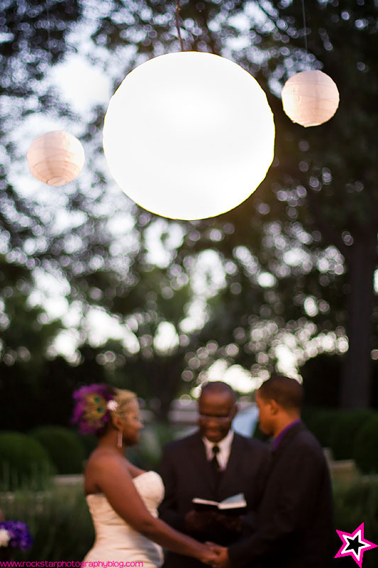 Ceremony, Flowers & Decor, purple, Wedding, Dallas, Arboretum