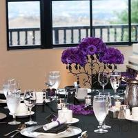 Reception, Flowers & Decor, white, purple, black, Centerpieces, Flowers, Centerpiece, Inspiration board