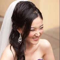 Beauty, Ceremony, Reception, Flowers & Decor, white, purple, black, Hair, Inspiration board