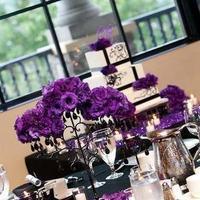 Flowers, Reception, white, purple, Centerpiece, black, Inspiration board, Flowers & Decor, Centerpieces