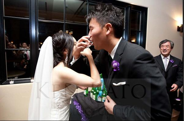 Reception, white, purple, black, Inspiration board, Tower, Soju, Flowers & Decor