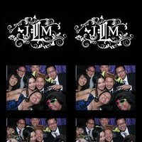 Reception, Flowers & Decor, white, purple, black, Photobooth, Inspiration board
