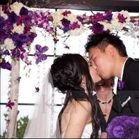 Ceremony, Reception, Flowers & Decor, white, purple, black, Ceremony Flowers, Flowers, Inspiration board