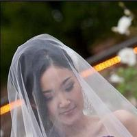 Ceremony, Reception, Flowers & Decor, Wedding Dresses, Veils, Fashion, white, purple, black, dress, Veil, Inspiration board