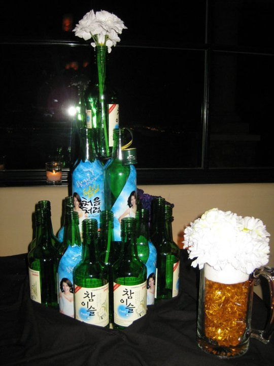 Reception, Flowers & Decor, Inspiration board, Tower, Soju