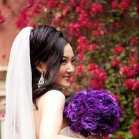 Ceremony, Reception, Flowers & Decor, white, purple, black, Ceremony Flowers, Bride Bouquets, Flowers, Bouquet, Inspiration board