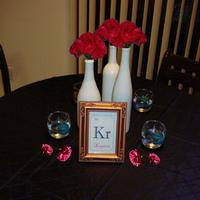pink, blue, Carnation, Mockup
