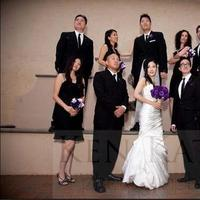 Ceremony, Reception, Flowers & Decor, white, purple, black, Inspiration board