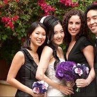 Ceremony, Reception, Flowers & Decor, Bridesmaids, Bridesmaids Dresses, Fashion, white, purple, black, Inspiration board