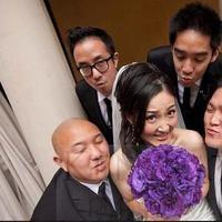 Ceremony, Reception, Flowers & Decor, white, purple, black, Groomsmen, Inspiration board