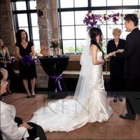 Ceremony, Flowers & Decor, Wedding Dresses, Veils, Fashion, white, purple, black, dress, Veil
