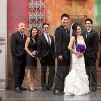 Reception, white, purple, Ceremony, Bridesmaids, black, Inspiration board, Flowers & Decor, Fashion, Bridesmaids Dresses