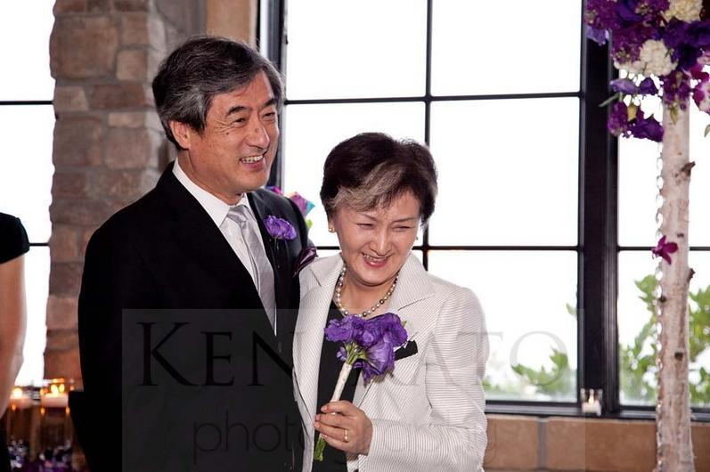 Ceremony, Flowers & Decor, white, purple, black, Parents