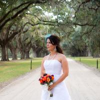 Beauty, Flowers & Decor, Jewelry, Wedding Dresses, Shoes, Fashion, white, blue, dress, Makeup, Flowers, Bridal, Flower Wedding Dresses