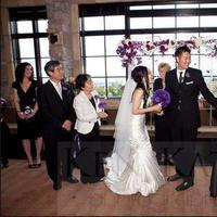 Ceremony, Flowers & Decor, Wedding Dresses, Veils, Fashion, white, purple, black, dress, Flower, Veil