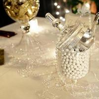 Favors & Gifts, white, gold, Favors, Candy, Buffet