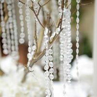 Flowers & Decor, white, ivory, gold, Flower, Centerpiece, Tree