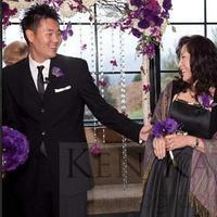 Ceremony, Flowers & Decor, white, purple, black