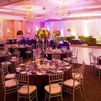 Reception, Flowers & Decor, Decor, orange, purple, Flowers