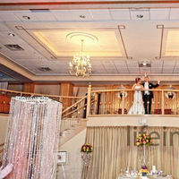 Reception, Flowers & Decor, orange, purple, Flowers