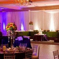 Reception, Flowers & Decor, orange, purple, Flowers