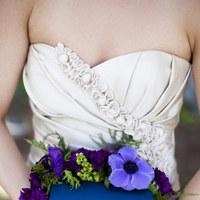 Flowers & Decor, Bridesmaids, Bridesmaids Dresses, Fashion, purple, blue, Bridesmaid Bouquets, Flowers, Weddings, Clutch, Carmen, Claytonandshauna, Flower Wedding Dresses