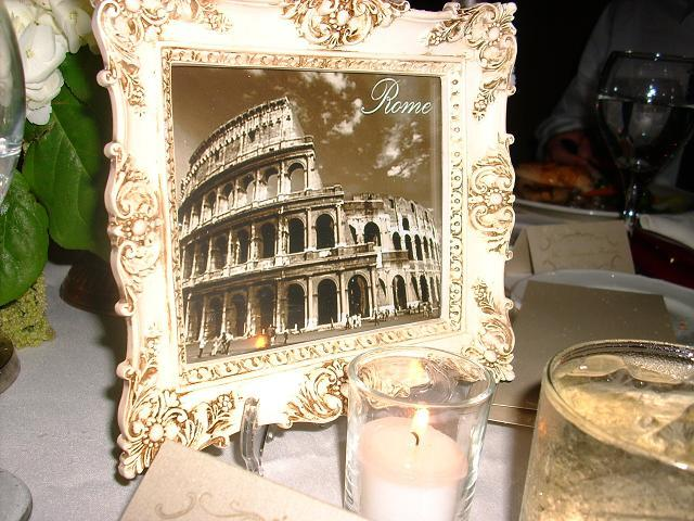 ivory, City, Table, Name, Sepia, Frame