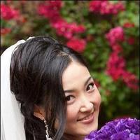 Beauty, Ceremony, Reception, Flowers & Decor, white, purple, black, Makeup