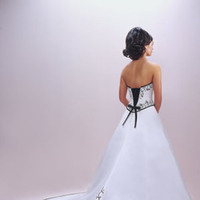 Wedding Dresses, Fashion, white, pink, black, dress