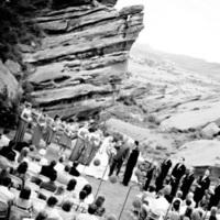 Ceremony, Flowers & Decor, white, black