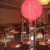 Reception, Flowers & Decor, red, brown, gold