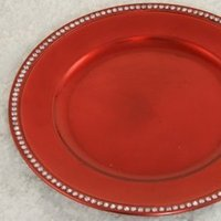 Reception, Flowers & Decor, Registry, red, Place Settings, Charger, Plate