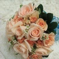 Flowers & Decor, orange, pink, Flowers