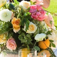 Flowers & Decor, white, orange, pink, Flowers