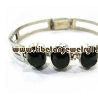 Beauty, Jewelry, black, silver, Bracelets, Makeup, Bracelet, Sterling, Tibetan