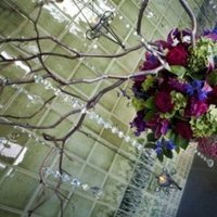 Reception, Flowers & Decor, purple, green, Inspiration board