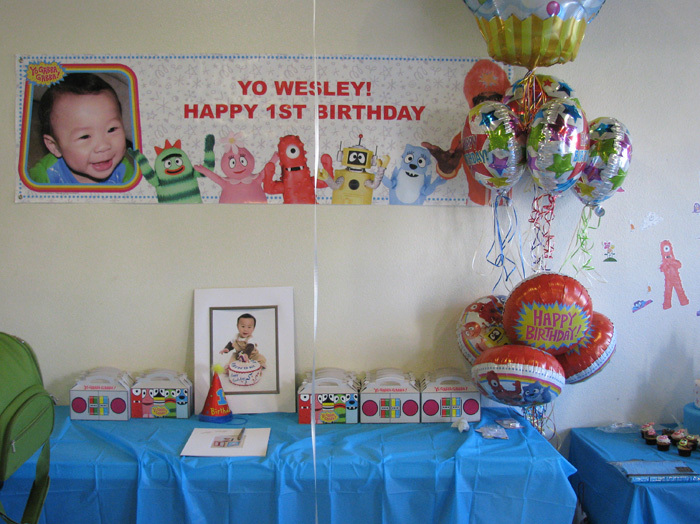 Theme, Birthday, 1st, Wesley