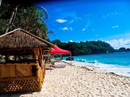 Reception, Flowers & Decor, purple, Beach, Beach Wedding Flowers & Decor, Wedding, Boracay
