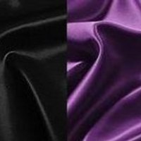 white, purple, black