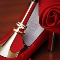 Reception, Flowers & Decor, Jewelry, Shoes, Fashion, red, purple, silver, gold