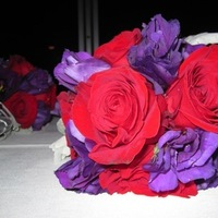 Flowers & Decor, red, purple, Bride Bouquets, Flowers, Bouquet