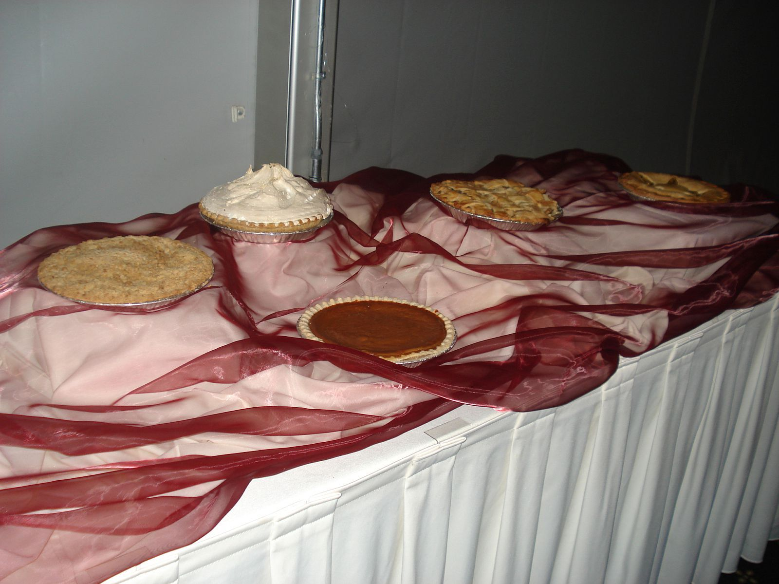 Reception, Flowers & Decor, Food, Dessert, Buffet, Pie